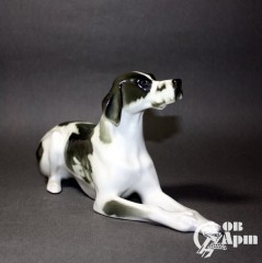 "Скульптура ""Собака пойнтер"""